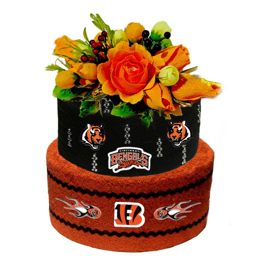 b3caec6d Cincinnati Bengals fans gift made with towels.