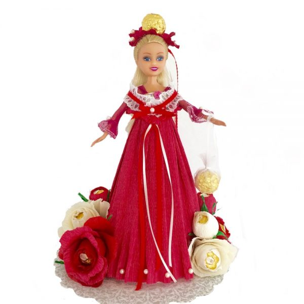 Handmade candy doll gift