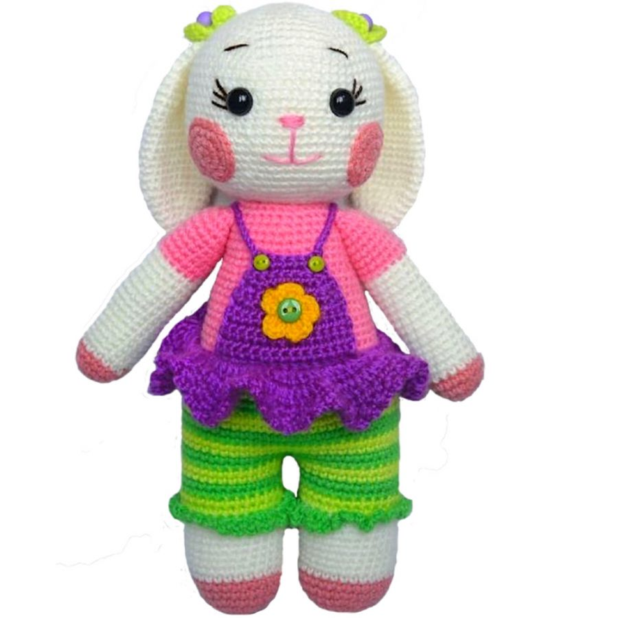 Special Toys For Girls : Baby girl gift unique handmade crochet toy for small