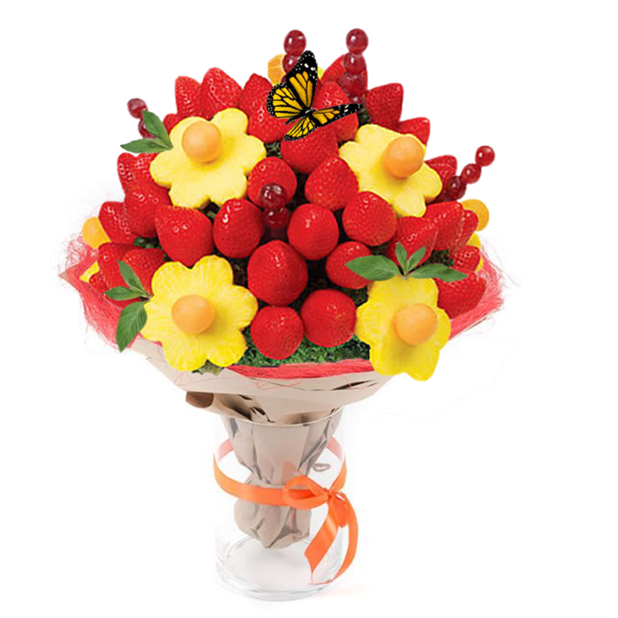 Strawberry Bouquet For Any Occasion Handmade Elegant Tasty