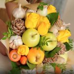 Fruit vegetable bouquet