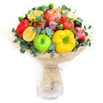 cute fruit bouquet