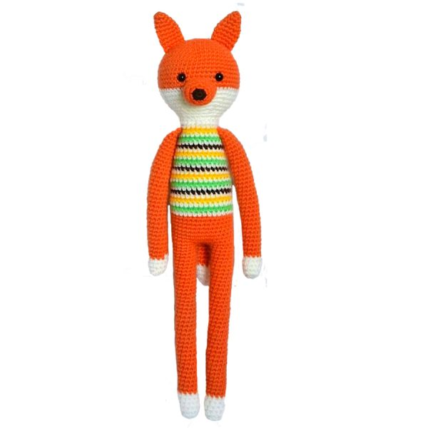 baby toy fox stuffed animal