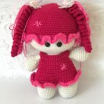 newborn baby girl crochet handmade set21